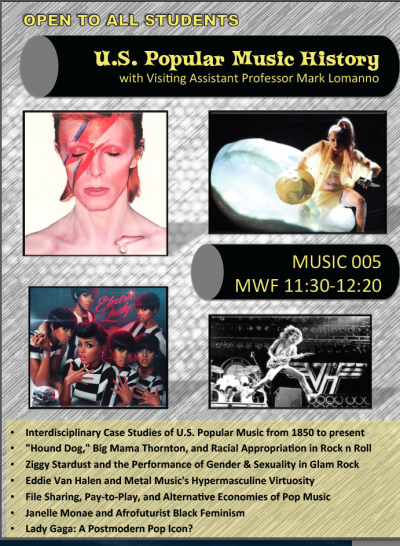 MUSI 005 - U.S. Pop Music History