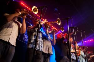 No BS! Brass Band. Photograph by Lauren Serpa.